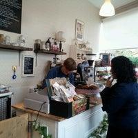 Photo taken at Cafe Vintage by Luke H. on 9/24/2011