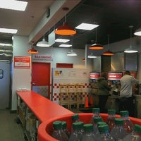 Photo taken at Five Guys Burgers And Fries by Allen W. on 12/27/2011