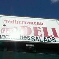 Photo taken at Mediterranean Deli by Dave N. on 11/18/2011