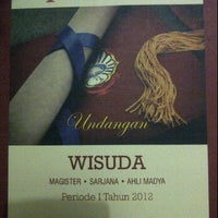 Photo taken at Pascasarjana Universitas Katolik Widya Mandala by Ignatz S. on 5/9/2012