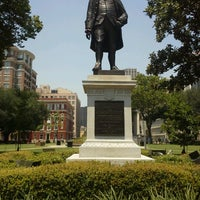 Photo taken at Lafayette Square by Peter G. on 6/26/2012
