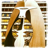 Photo taken at Daley Plaza Picasso by James D. on 9/12/2012