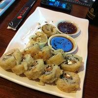 Photo taken at Kenji Sushi by Felipe T. on 6/1/2012