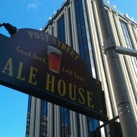Photo taken at Post Street Ale House by Bryan B. on 3/4/2012