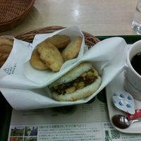 Photo taken at モスバーガー 靱本町店 by ikutan on 6/8/2012