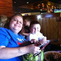 Photo taken at Outback Steakhouse by Amber on 8/19/2012