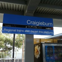 Photo taken at Craigieburn Station by James C. on 5/6/2012