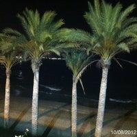 Photo taken at Playa Santa Ana by Adrian on 8/9/2012