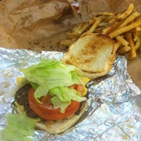 Photo taken at Five Guys by Jerry S. on 4/25/2012