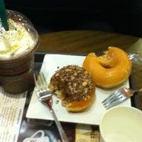 Photo taken at Krispy Kreme by Errin D. on 8/18/2012