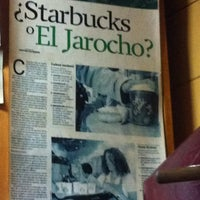 Photo taken at Café El Jarocho by Carlos L. on 4/7/2012