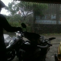 Photo taken at SPBU 34-15417 Vila Dago by Ray G. on 4/2/2012