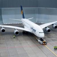 Photo taken at Lufthansa Flight LH 440 by Lufthansa on 8/2/2012