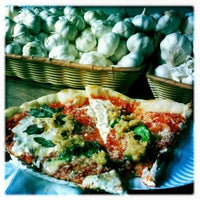 Photo taken at South Brooklyn Pizza by Melissa T. on 4/21/2012