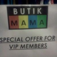Photo taken at Butik Mama Bangi by Afyra A. on 12/13/2011