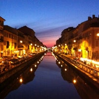 Photo taken at Naviglio Grande by Andrea R. on 7/24/2011