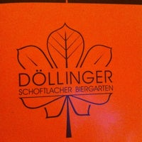 Photo taken at Döllinger Biergarten by Thomas K. on 12/28/2011
