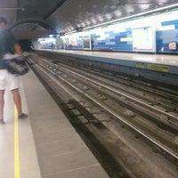 Photo taken at Metro Pudahuel by Madeleine B. on 1/18/2012