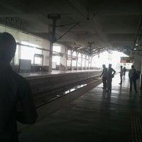Photo taken at Tughlaqabad Metro Station by Nitish K. on 4/18/2012