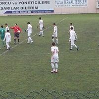 Photo taken at Kartal Bulvar Stadı by Sertac g. on 1/8/2012
