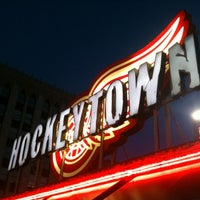 Photo taken at Hockeytown Cafe by Matthew on 7/19/2012
