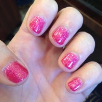 Photo taken at Happy Nails by Brittany💕 on 5/4/2012