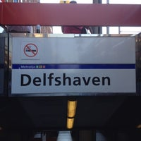Photo taken at Metrostation Delfshaven by Jayson L. on 7/25/2012