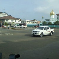 Photo taken at Bandar Tawau by Aiman Zhafransyah on 6/17/2012