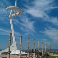 Photo taken at Palau Sant Jordi by Rishat A. on 8/7/2012