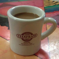 Photo taken at Cianfrani Coffeehouse by Meri D. on 1/28/2012