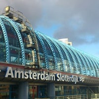 Photo taken at Amsterdam Sloterdijk Station by Anita K. on 12/30/2011