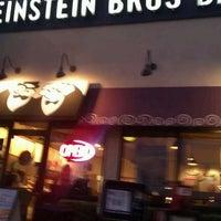 Photo taken at Einstein Bros Bagels by Robert J. on 9/1/2011