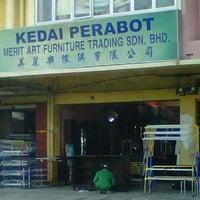 Photo taken at Pusat Perabot Merit Art by Siti Zuhaila I. on 9/16/2011