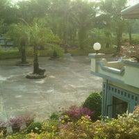 Photo taken at Phatad Valley Hotel Kanchanaburi by Sombhop S. on 1/14/2012