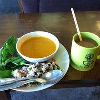 Photo taken at Fair Trade Café by Amanda C. on 11/9/2011