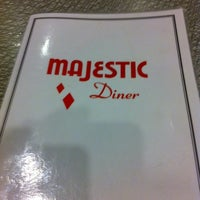 Photo taken at Majestic Diner by Brian S. on 9/3/2011