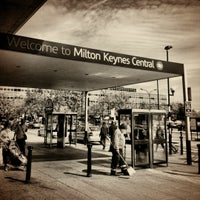 Photo taken at Milton Keynes Central Railway Station (MKC) by Chris S. on 7/25/2011