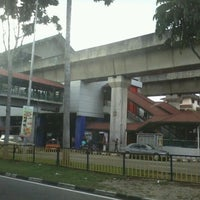 Photo taken at RapidKL Wangsa Maju (KJ3) LRT Station by Azeem H. on 7/22/2012