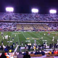 Photo taken at Bobby Dodd Stadium by Jim S. on 10/29/2011