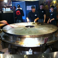 Photo taken at HuHot Mongolian Grill by Joshua T. on 6/28/2011
