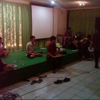 Photo taken at Jakarta Christian Church by El S. on 10/28/2011