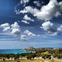 Photo taken at Sonesta Maho Beach Resort & Casino by Nathan B. on 3/16/2012