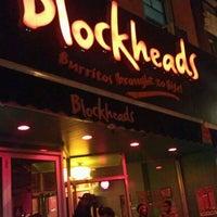 Photo taken at Blockheads Burritos by danielle on 9/3/2011