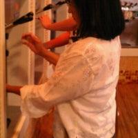 Photo taken at Orange Leaf Frozen Yogurt by Monica C. on 10/2/2011