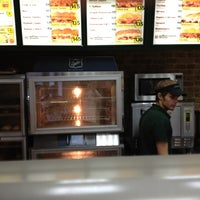 Photo taken at SUBWAY by Alexander E. on 8/6/2012