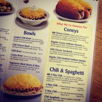 Photo taken at Skyline Chili by Karla A. on 3/22/2012
