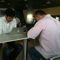 Photo taken at Lufthansa Business Lounge A (Schengen) by Kwilim on 3/1/2011
