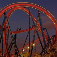 Photo taken at Six Flags Great America by Kyle S. on 10/6/2011