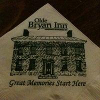 Photo taken at Olde Bryan Inn by Kerri P. on 5/29/2011