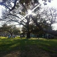 Photo taken at Menil Park by Luna O. on 3/6/2011